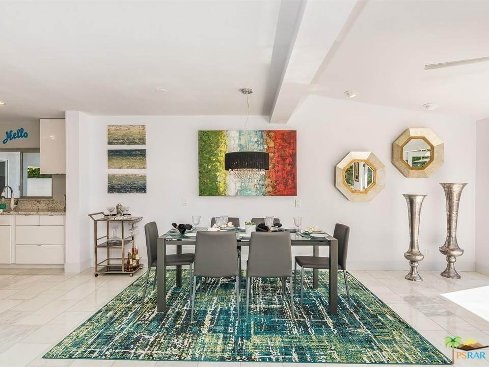 Dining Room Furniture - Home Staging Palm Springs