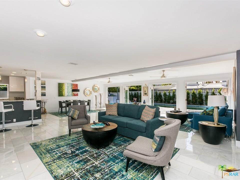 New Living Room Furniture - Home Staging Palm Springs