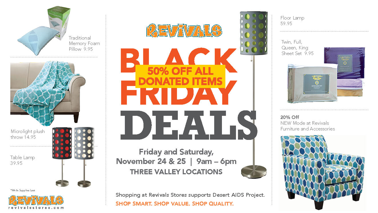 Black Friday Deals at Revivals Stores
