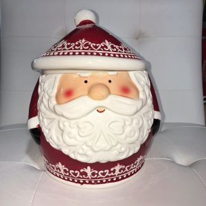 Santa Cookie Jar - Holiday Gift Ideas Palm Springs