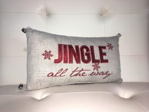 Jingle all the Way Pillow - Holiday Gift Ideas Palm Springs