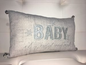 Baby It's Cold Outside Pillow - Holiday Gift Ideas Palm Springs