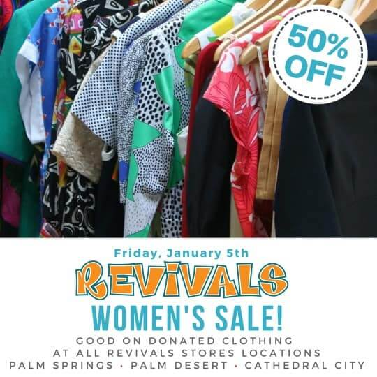 Revivals Clothing Palm Springs
